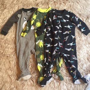 Carters Fleece Footed Pajamas